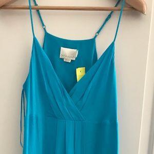 Cynthia Rowley Turquoise silk dress